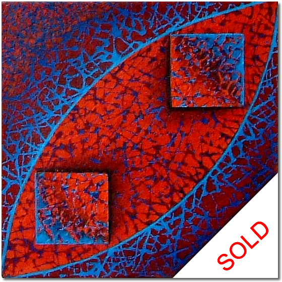Blue Abstract - abstract painting for sale