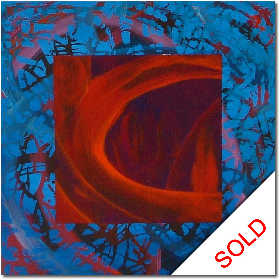 Photo of Evident Scenery - abstract painting for sale